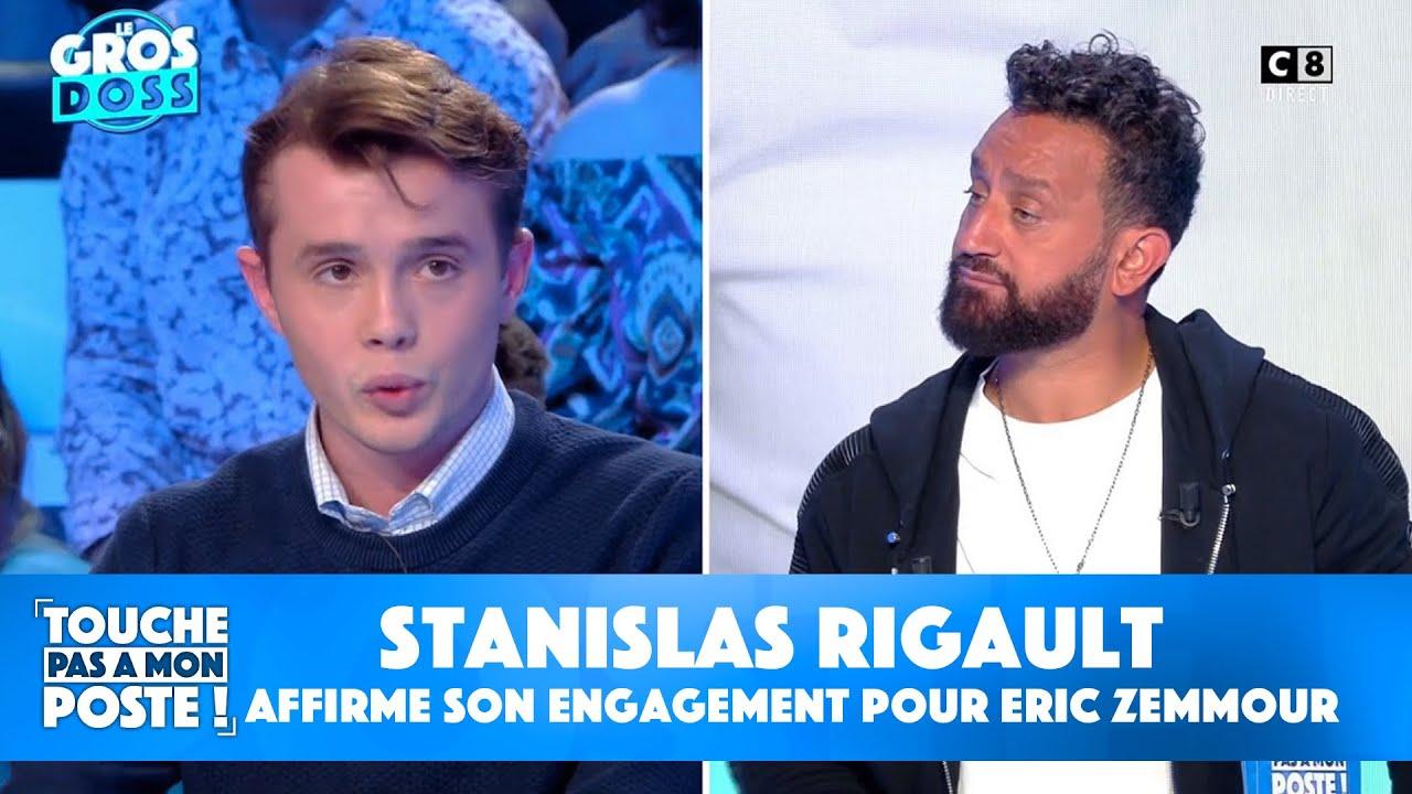 """Download Stanislas Rigault, président de """"Génération Z"""", affirme son engagement pour Eric Zemmour"""