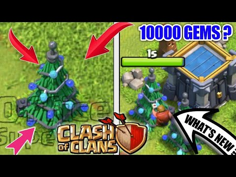 Clash Of Clans Christmas Tree 2019 New Christmas Tree : Winter Update Clash Of Clans || Get Your