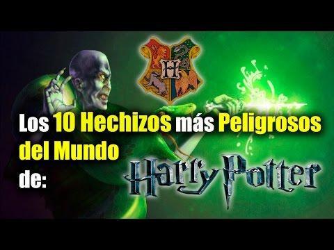 Los 10 Hechizos y maleficios más peligrosos en el mundo de Harry Potter