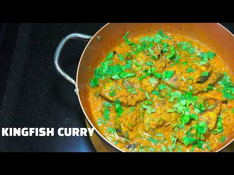 Amazing Fish Curry - Kingfish Curry - Fish curry - Fish Masala - How to make Fish Curry