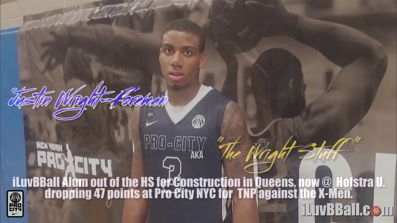 Justin Wright-Foreman drops 47 @ Pro City