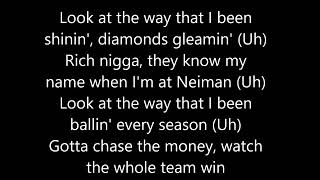 E-40 feat. Quavo, Roddy Ricch, A$AP Ferg, and ScHoolboy Q - Chase The Money (Lyrics)