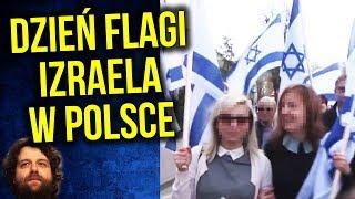 Święto Flagi Izraela w Polsce [ FILM ] - Komentator