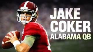 Jake Coker BAMA QB