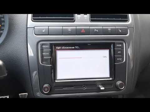 Обновление прошивки магнитолы R340G VW Polo Sedan