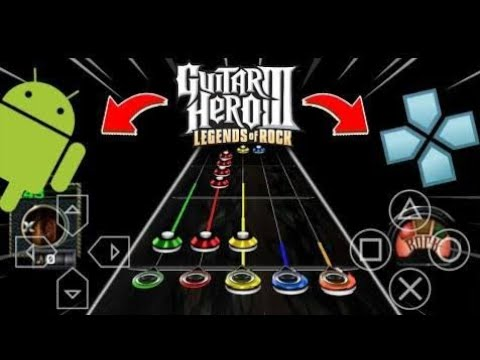 Cara Download Game Guitar Hero III Legend Of Rock PPSSPP Android