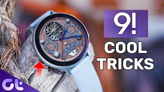 Top 9 Samsung Galaxy Watch and Active2 Tips and Tricks You Must Know | Guiding Tech