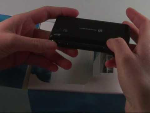 Sony-Ericsson Aino Test Erster Eindruck