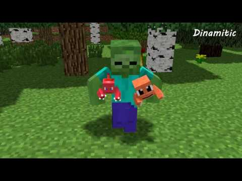 FNAF vs Mobs: Pokemon Challenge - Monster School (Minecraft Animation)