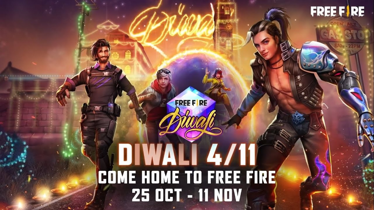 Diwali Rewards | Come Home To Free Fire