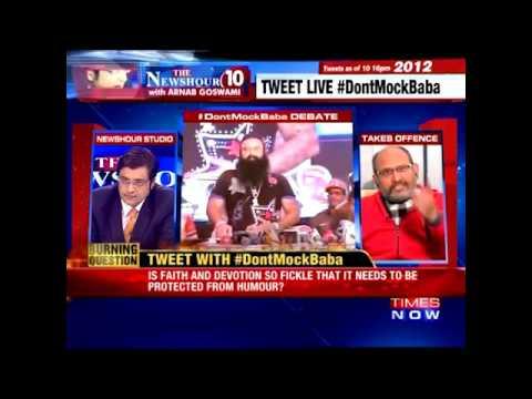 Dr Aditya Insan ABUSES Arnab Goswami On His Show | Kiku Sharda Arrested
