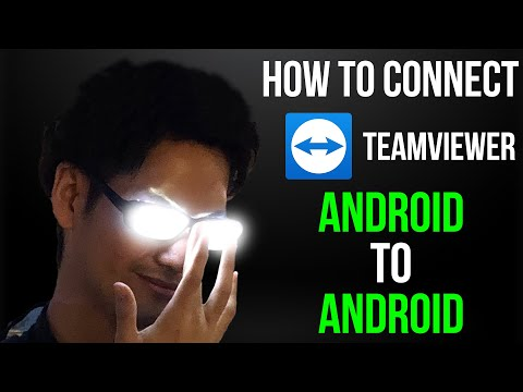 How to Connect Teamviewer Android Mobile To Mobile | Remote Control Android with Team Viewer
