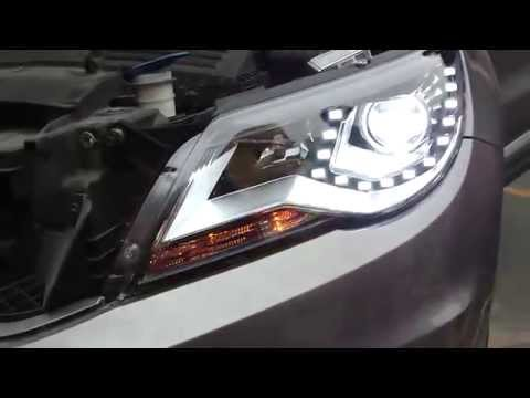 vw tiguan headlight cover