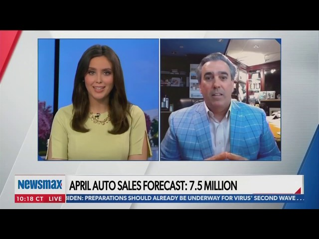 Tom Maoli on Newsmax discussing Auto Sales Forecast 5/4/2020