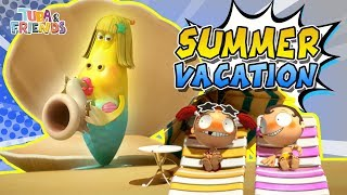 SUMMER VACATION | TUBAn Friends Compilation | Best Video | Larva and Vicky & Johnny
