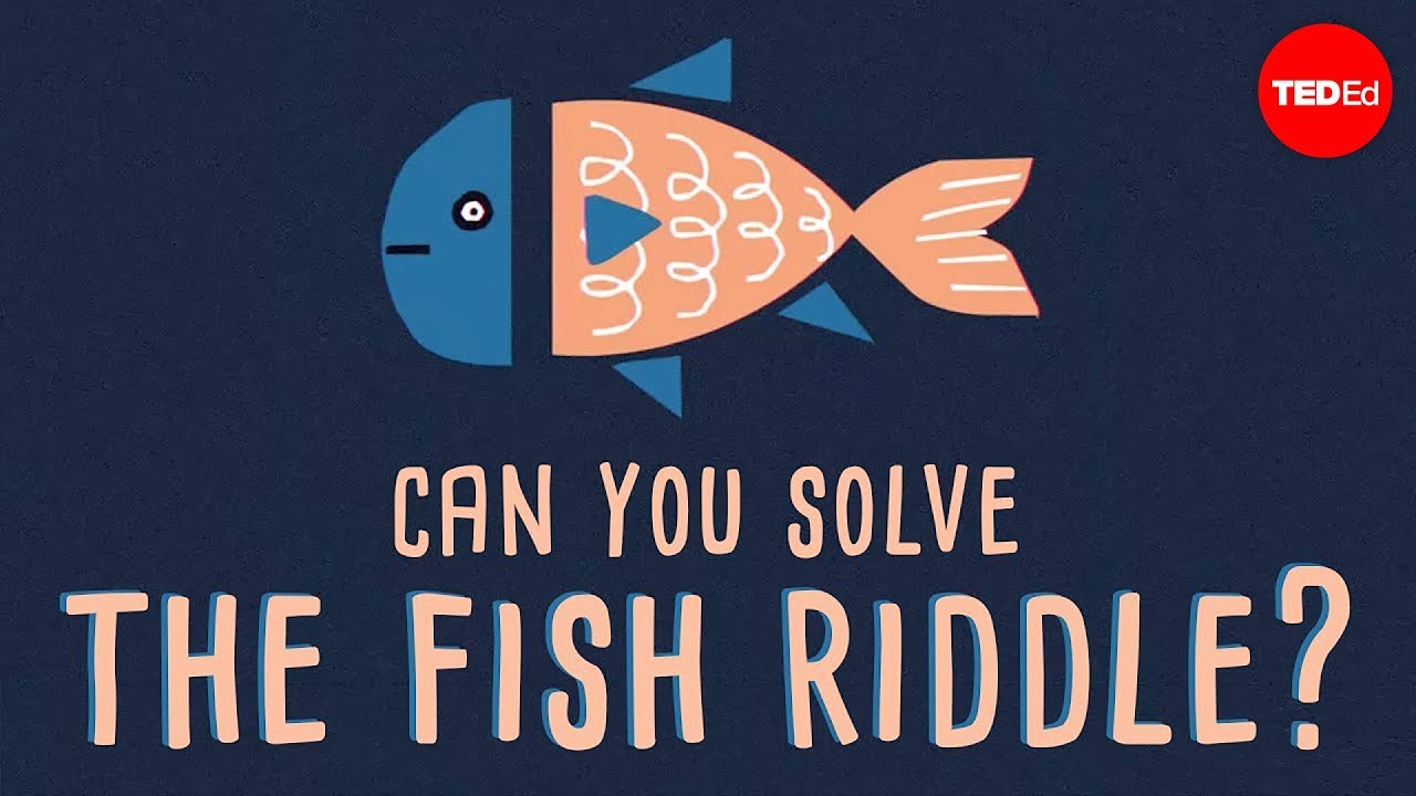 Can you solve the fish riddle? - Steve Wyborney - YouTube