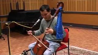 Waltzing Matilda: Mongolian throat singer Bukhchuluun Ganburged