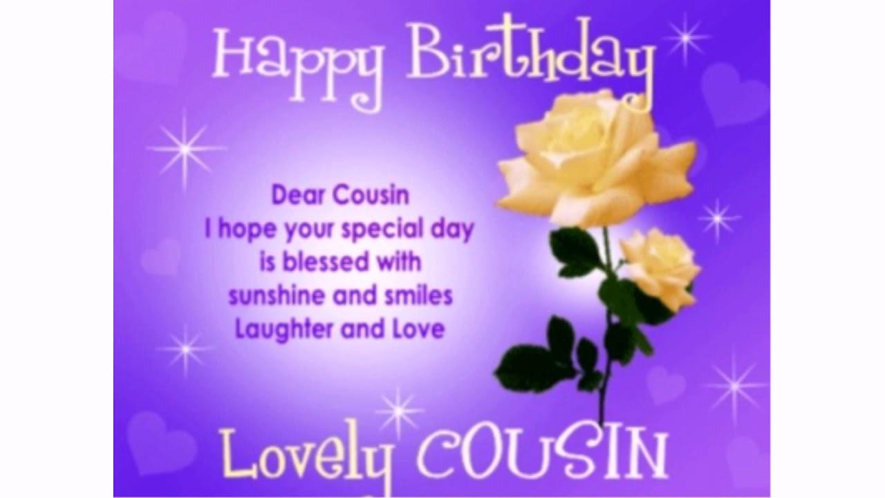 40 Happy Birthday Beautiful Cousin Wishesgreeting