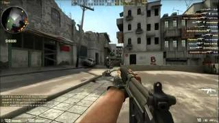 CS:Go Dust 2 Gameplay