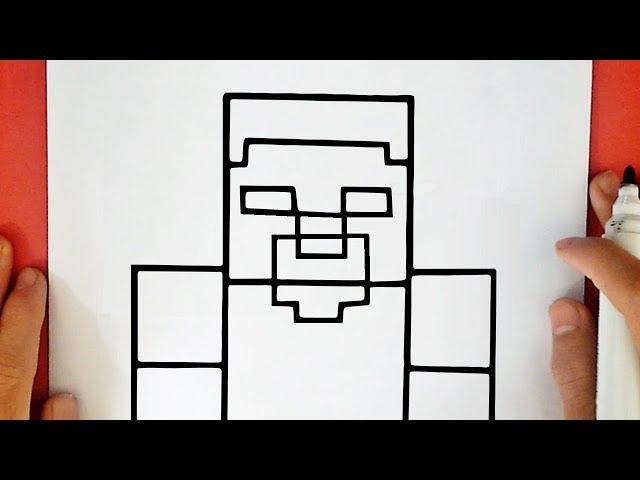 como desenhar minecraft nhltv net