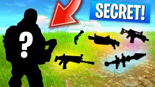 SECRET SPECIAL LOOT In Fortnite: Battle Royale! (THIS IS SO COOL!)