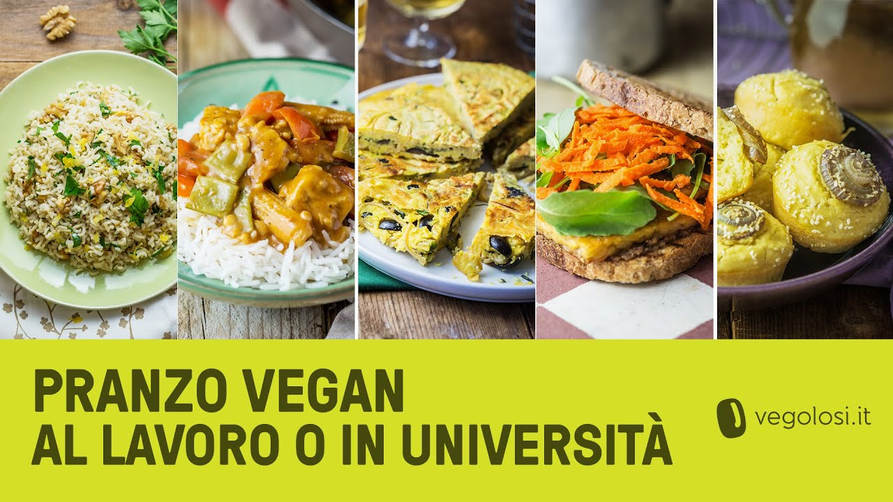 Piatti Freddi Veloci Da Asporto idee per il pranzo in ufficio o in università: 5 ricette vegan facilissime