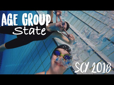 Age Group State Championship Meet 2018 SCY Montage