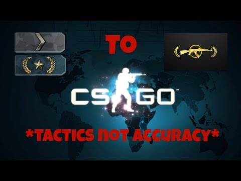 CS:GO How to get from Silver/Gold Nova to Master Guardian with Tactics! (HD 60FPS)