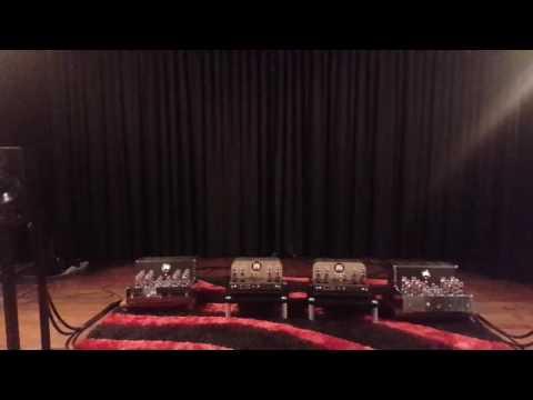 Atma-Sphere Nirvana Amplifier, Quested H108 Studio Near Field Monitors, Purist Audio Design Cables