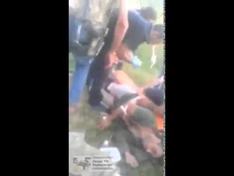 Dağlıca'daki çatışma anı ve yaralı...