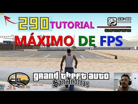 COMO TIRAR O LAG E AUMENTAR O FPS DO GTA (GTA SA Max Frames Per Second Part 2)