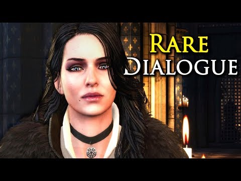 Witcher 3 [Rare Dialogue]: What Happens In Vizima If You Leave Yennefer Hanging In Larvik