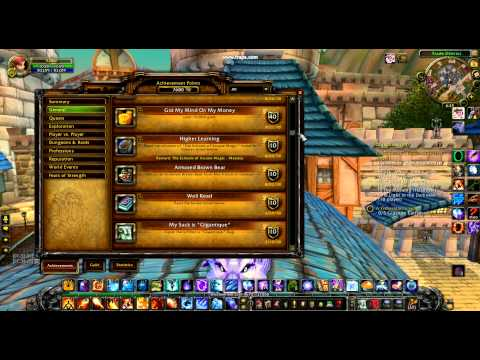 World of warcraft cata my mages achives