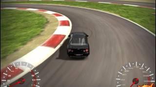 3D Pistte Araba Sürme - 3D Oyuncu