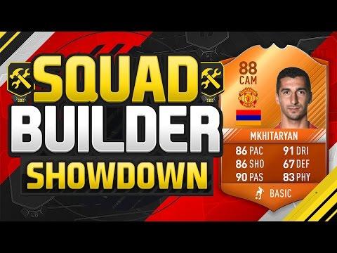 FIFA 17 SQUAD BUILDER SHOWDOWN!!! MOTM MKHITARYAN VS A PRO FIFA PLAYER!!! SBSD Vs Hashtag Harry
