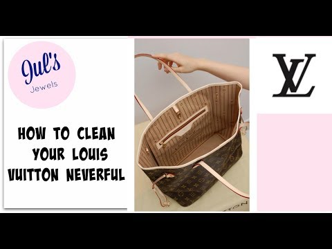Cleaning and Caring for a Louis Vuitton Neverfull