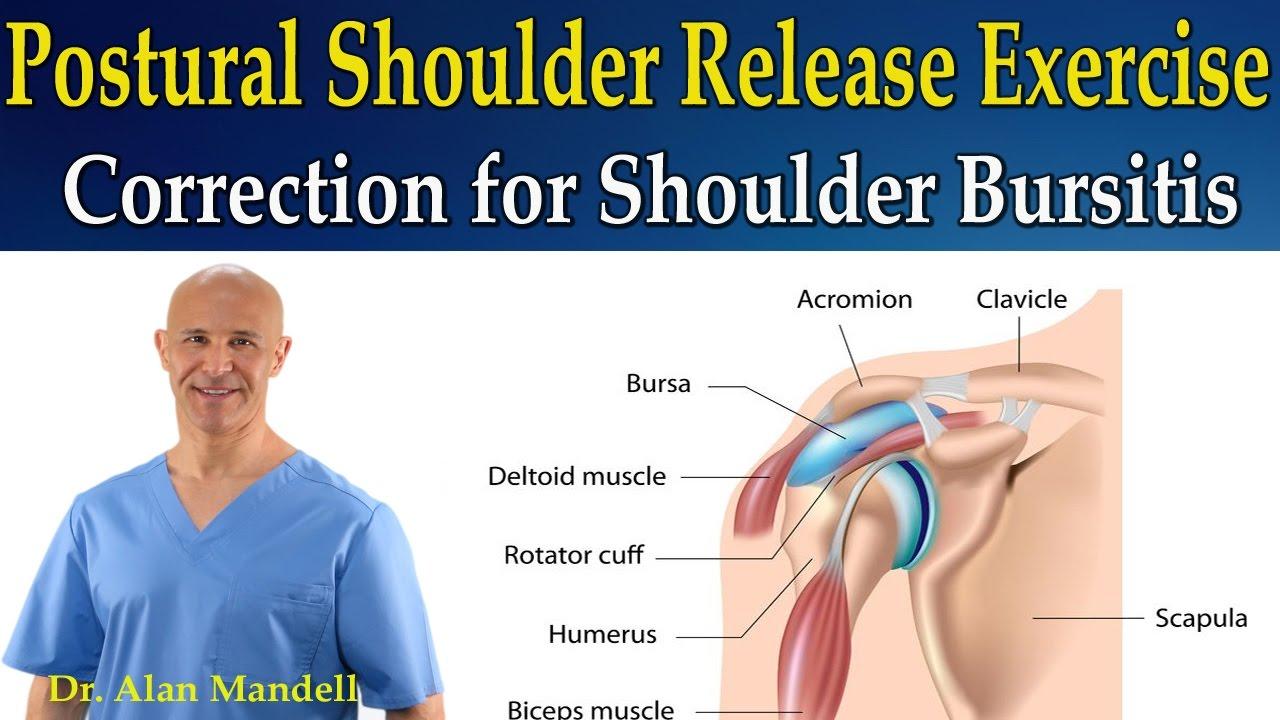 postural shoulder release exercise for correction of shoulder, Cephalic Vein