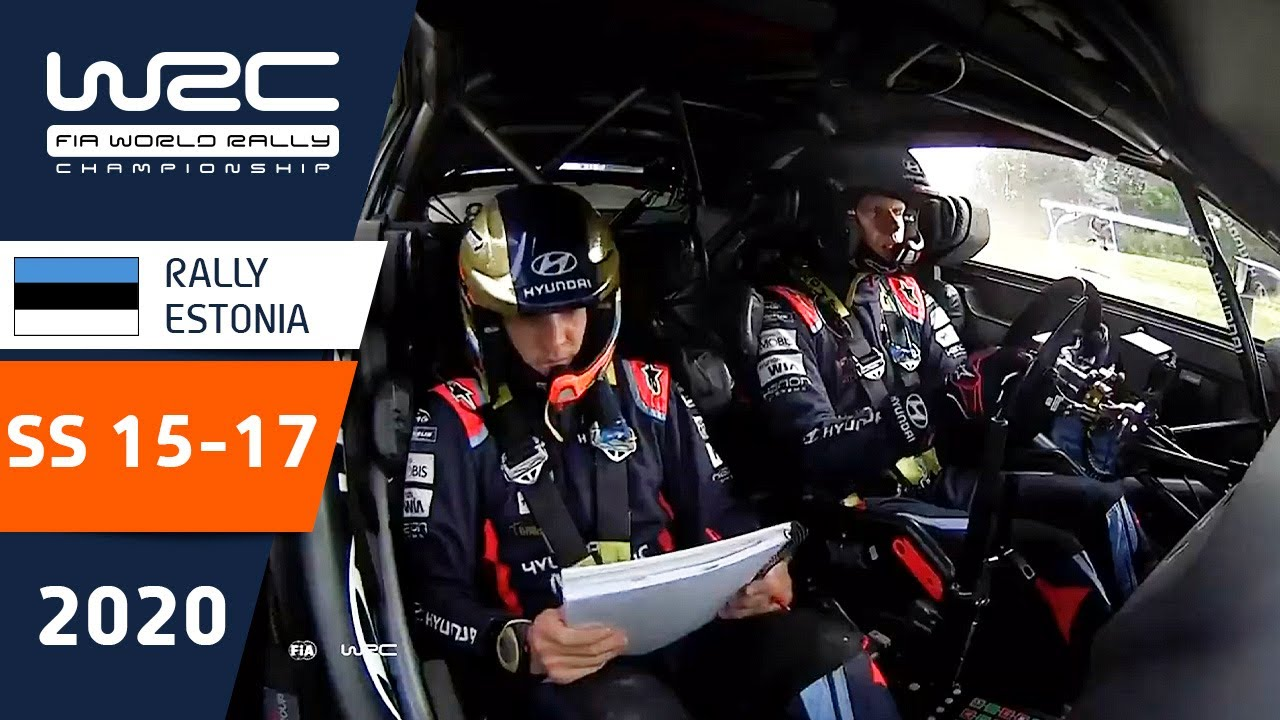 WRC - Rally Estonia 2020: HIGHLIGHTS Stages 15-17