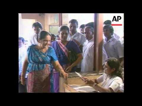 Sri Lanka – Presidential Elections
