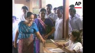 Sri Lanka - Presidential Elections