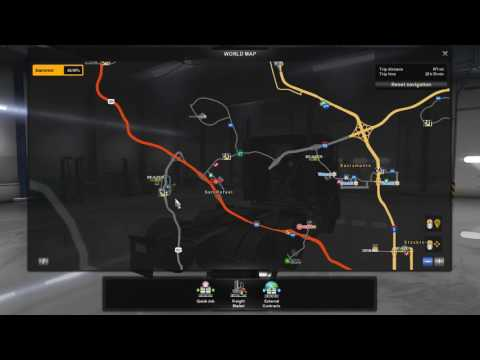 American Truck Simulator Episode 20 Talking About Toll Booths and Free Refills