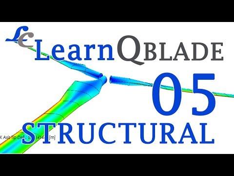 Q-BLADE Tutorials for beginners | Blade Structural Analysis |Wind Turbine| HAWT💙