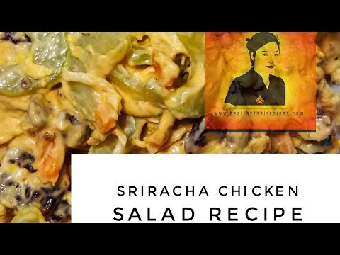 Sriracha Rotisserie Chicken Salad