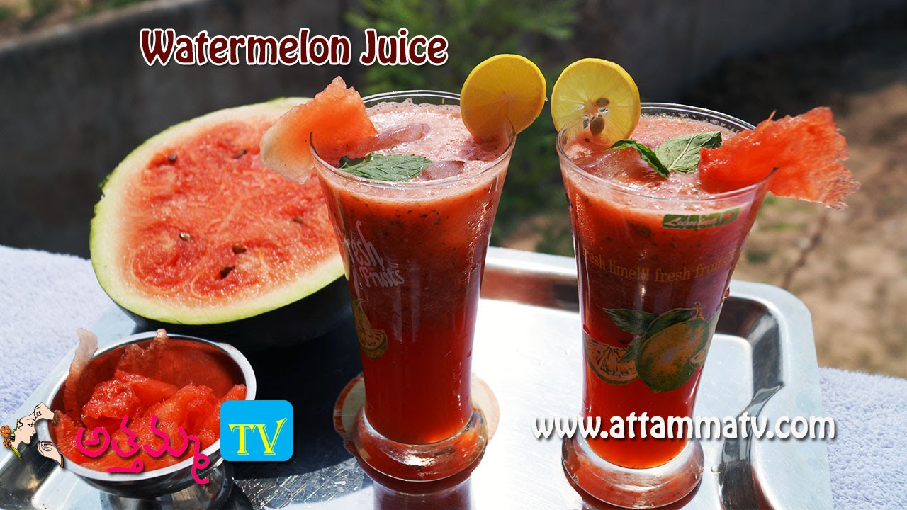 Watermelon smoothie: cooking recipe, benefits 77