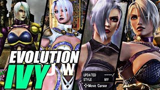 Evolution of Ivy from SoulCalibur (1998-2018)