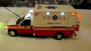 "F.D.N.Y Ambulance New York Fire Department ""3"""