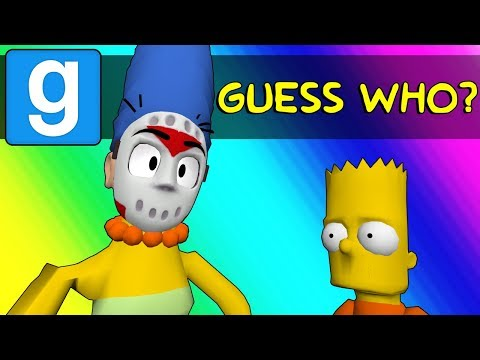Thumbnail: Gmod Guess Who Funny Moments - Springfield's New Police Force! (Garry's Mod)