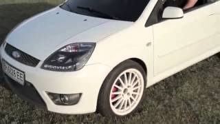 Тюнинг и Тест Драйв Автомобиля FORD Fiesta ST
