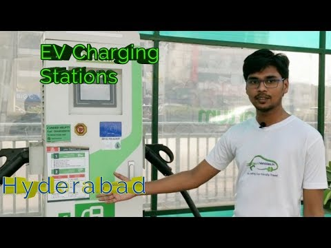 Electric Vehicle Charging Station In Hyderabad   India