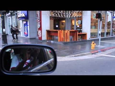 Left Brain Skating on Hollywood Boulevard